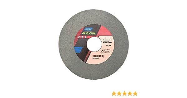 1 Stück NORTON Schleifscheibe 125 x 10 mm Korn 60 Edelkorund weiß