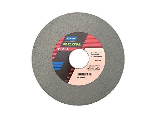 1 Stück NORTON Neon Schleifscheibe 150 x 20 mm Korn 120 grünes Siliziumkarbid Widia (Steine Norton)