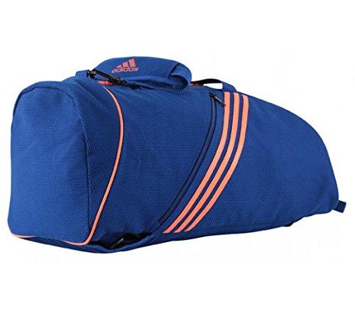 Adidas judogi 2in 1sport tasche/colori/dimensioni selezione, blu/arancione