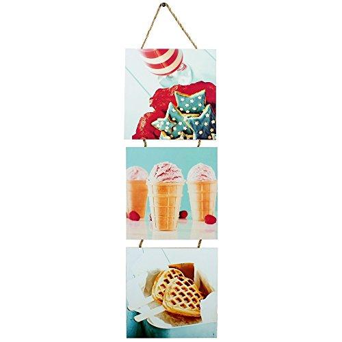 Promobo - Triptyque Design Gourmand Ice Cream Viennoiserie Biscuit Etoile