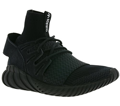 Adidas Originals S80508 Tubular Doom Pk Black Dk Grey White Black