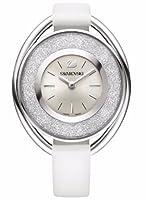 Swarovski 5158548 - Reloj de cuarzo para mujer, color plateado / blanco de Swarovski