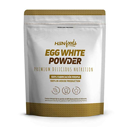 Clara de Huevo en Polvo de HSN Foods, 100% Proteína Natural sin Grasa