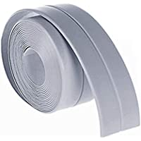 A Roll Of Kitchen Bathroom Bathtub Wall Sealing Tape, 38mm * 3.2M Home Kitchen Bathroom Bathtub Waterproof Wall Sealing Tape Strip Mildew Resistant Self Adhesive Tape For Sink Basin
