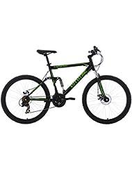 """KS Cycling VTT tout suspendu Noir 26"""""""