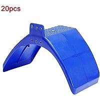 vap26 - Soporte para Paloma (20 Unidades), diseño de pájaro, No nulo, Azul, Tamaño Libre