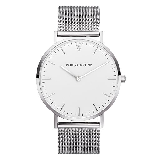 paul-valentine-armbanduhr-marina-silber-mesh-damen-uhr-mit-elegantem-zeitlosen-design-und-feinstem-e