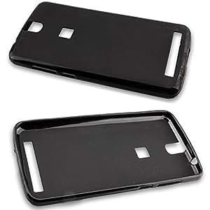 caseroxx Gaine coquille TPU-Bumper en noir Elephone P8000