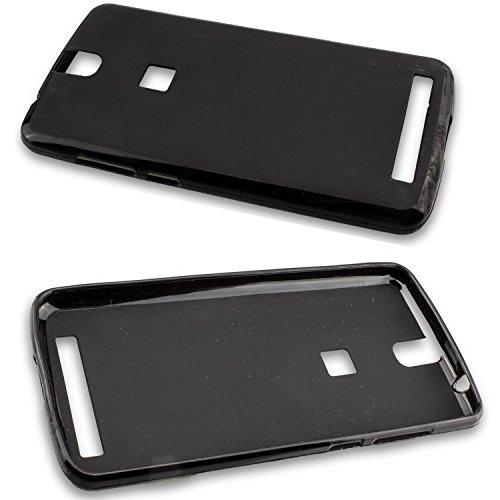 caseroxx TPU-Hülle für Elephone P8000, Tasche (TPU-Hülle in schwarz)