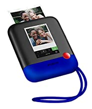 "Polaroid POP 2.0 – Fotocamera digitale a stampa istantanea, con display touchscreen da 3,97"", Wi-Fi integrato, video HD da 1080p, tecnologia zero inchiostro Zink e nuova app, blu"