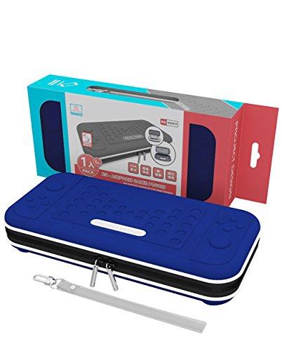 Pochette de transport Nintendo Switch Housse de transport rigide pour voyage Nintendo SWITCH Accessoires, Console et Joy-con