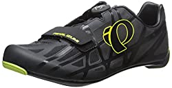 Pearl Izumi Men s Race RD IV Cycling Shoe Black/Lime Punch 7.3 D(M) US