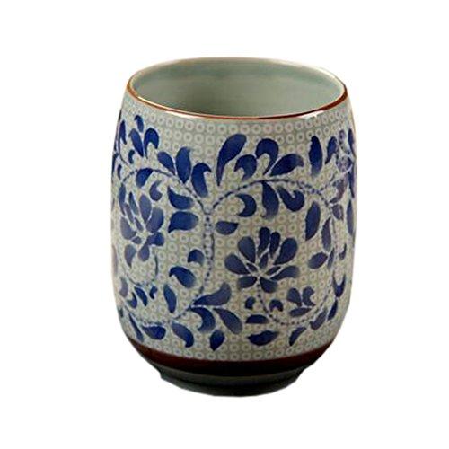 Blancho 2 PCS Tasses à thé en céramique chinoise et japonaise Tasse à bière en tasse à thé Kung Fu Tasse à eau #14