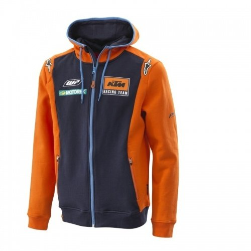 Original KTM Replica Team Zip Hoodie Herren Pullover Gr. M