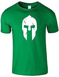 Spartan Helmet Frauen Der Männer Damen Das Lustige T Shirt