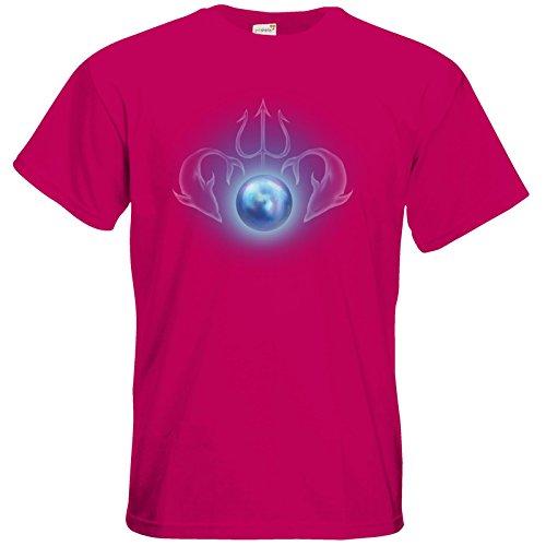 getshirts - Das Schwarze Auge - T-Shirt - Die Siebenwindküste - Götter und Dämonen - Efferdperle Sorbet