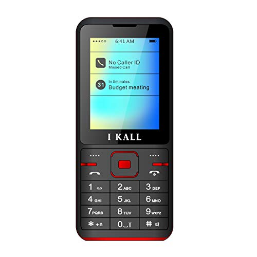IKALL K37 2.4 Inch Display Feature Phone (Dual SIM , Red)