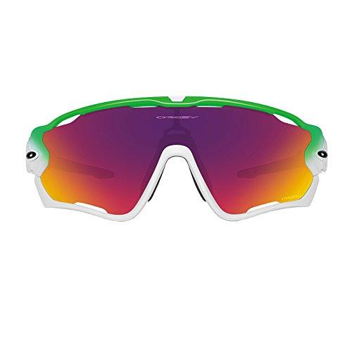 Oakley 0oo jawbreaker 929015 0, occhiali da sole unisex-adulto, verde (light green/fire), 0
