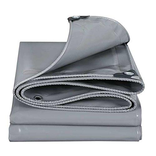LFF- Wasserdicht Persenning Grau Sonnenschutz Sundhade Messer Scraping Tarpaulin Blatt mit Öse 500 g / ㎡ (größe : 2X3m)