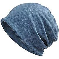 Yuccer Unisex Slouch Beanie Cotone Cappello 2-in-1 Copricapo Chemioterapia  Collo Sciarpa per 6296ecf5fcdc