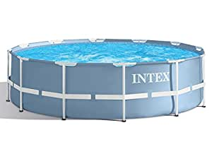 Intex piscine tubulaire intex prism frame ronde 3 66 x 0 for Piscine intex amazon