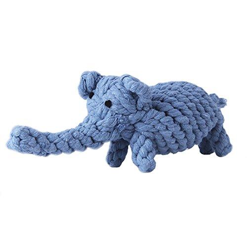 Juguetes para perro, cuerda de algodón para limpiar los dientes – mascota...