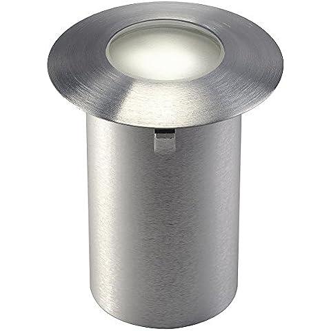 SLV, Faro da incasso, in acciaio Inox, A++, 20 lumen, 3000 kelvin