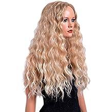 Permanente a spirale capelli lunghi
