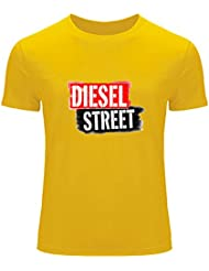 Diesel Street Printed For Boys Girls T-shirt Tee Outlet