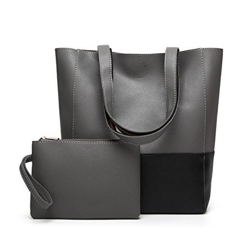 Oangel - Sacchetto Donna black+grey