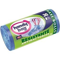 Handy Bag - Bolsas para basura con autocierre - Cubo normal 30 L - 25 unidades - [pack de 4]