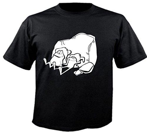 Herren T-Shirt Motiv 3747 Farbe Schwarz Größe M