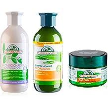 Corpore Sano Pack Tratamiento Hidratante Iintensivo Capilar - Champu Hidratante 500ML + Acondicionador Henna 300ML +