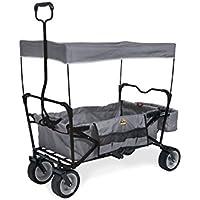 Pinolino Kinderträume GmbH Paxi carritos de Camping Grey - Carritos de Camping (Grey, Polyurethane (PU), Steel, 70 kg, 220 mm, 1240 mm)