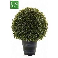 50/cm Dark Buchsbaum Gras B/älle TM 2/gro/ße Beste K/ünstliche