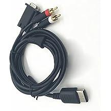 Zhhlinyuan VGA High Definition Cable RCA Sound Adapter HD PAL NTSC para Seg Dreamcas Video Games Console