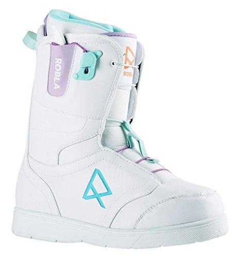 Robla Damen Dream Snowboard-Schuhe, White/Purple/Blue, 40