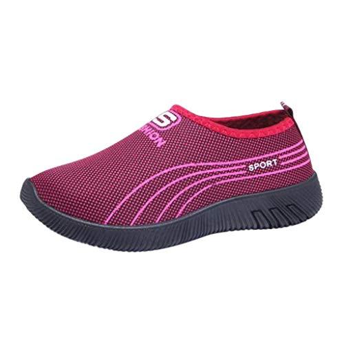 iHENGH Scarpe Donna Moda Casual Ginnastica Estate Shoes Women Outdoor Lace-Up Sneakers 2019 Scarpe Pigire Donne Sport Respirante Running Pu Francesina Pantofola Vintage