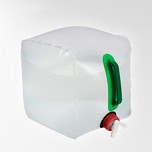 Lwj Portable Falten Wasser Lagerung Hebekissen für Camping Wandern Überleben Hydratation Blase Blauen Wasserbeutel Falten Wasserbeutel (Wasser Hydratation Blase)