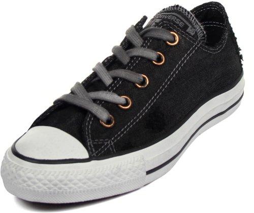 Converse - Chuck Taylor All Star Denim Halbschuhe, EUR: 35, Black (Taylor Chuck Denim Black Converse)
