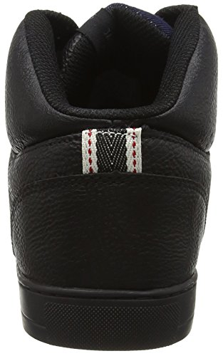 JACK & JONES Herren Jfwdunc Pu Mid Sneaker High-Top Schwarz (Anthracite)