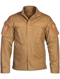 USA chaqueta de campo, ACU, Acanalado - coyote camuflaje, L