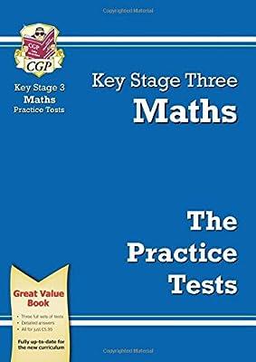KS3 Maths Practice Tests (CGP KS3 Practice Papers) by Coordination Group Publications Ltd (CGP)