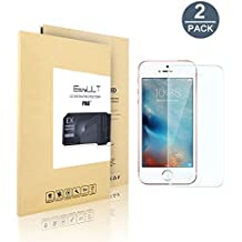 [2 pack]iPhoneSE/iPhone5/iPhone5s/iPhone5c vidrio templado Protector de Pantalla (alta Definicion HD 0.26mm ultra delgado)…
