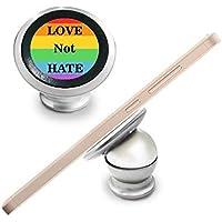 Arco iris Gay lésbico LGBT transgénero bisexuals apoyo amor no odio bandera ilustración magnético Teléfono para