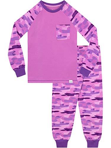 Harry Bear Pijama niñas Camuflaje Ajuste Ceñido