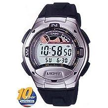 Reloj Deportivo Casio digital Caja acero resina Fase lunar grafico mareas C0026