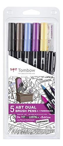 Tombow ABT 5P Ni-MH totaberlustig. de Set Designed e firmata a mano di Michael Holtschulte