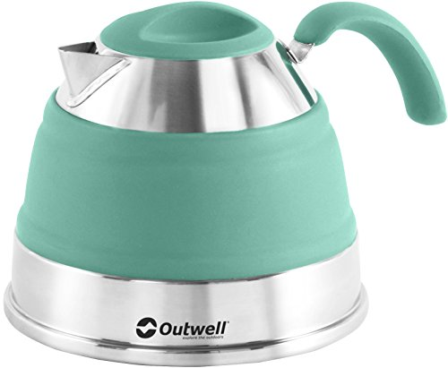 Outwell Collaps Kettle 1500ml Turquoise Blue 2017 Essgeschirr
