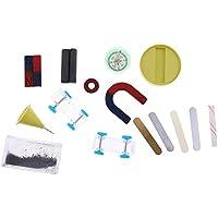 Sharplace Kit de Juguete Educativo Magnético Imán Ayuda de Experimento Ciencia para Niños